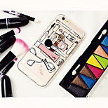 MAYCARI®Making-up Tools Transparent TPU Back Case for iPhone 5/iphone 5s