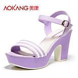 Aokang Women's Leatherette Sandals