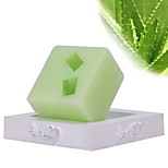 ALL BLUE High Quality Summer Hot Style Natural Aloe Essence Oil Soaps Whitening And Hydrating Deeply Clean Body Soaps