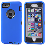 Shockproof Kickstand TPU+PC Cover Hard Protective Case for Apple iPhone 6/6S (Assorted Color)