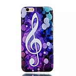 Phonetic Symbol  Pattern Water Cube TPU Soft Case for iPhone 6/6S