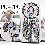 Dreams Catcher  Pattern High Quality PU Leather and TPU Back Case for iPhone 6/iPhone 6S