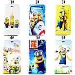 Daddy Series of Small Yellow People Pattern Magnet Phone Holster Buckle for iPhone 6/6S(Assorted Colors)