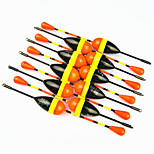 Anmuka Hot Sale! 10Pcs 1.2G Vertical Buoy Fish Floats Bobbers Fishing Float Set Fishing Tackle Tools Fishing Lure Float