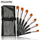 Stellaalpina1 Eyeshadow Brush Weasel Professional / Portable Wood Eye