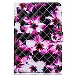 Novelty Cartoon Magnetic Buckle PU Leather Folio Case Shockproof Case for iPad Mini 4