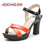 Aokang® Women's Leatherette Sandals - 132811248