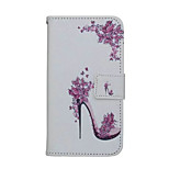 High-heeled Shoes Painted PU Phone Case for iphone 6/6S