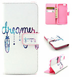 Dream Pattern PU Leather phone Case For iPhone 6S/6