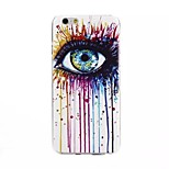 Eyes Painting Pattern TPU+IMD Back Case For iPhone6/6s