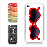 Dazzle Colour Glasses Pattern PC Phone Case Back Cover Case for iPhone6