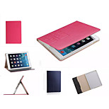 Luxury Grid Leather Case Card wallet Stand Smart Cover protective book cases For ipad Mini 3/2/1(Assorted Color)