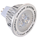 GU5.3(MR16) 5 W 3 x 3030 SMD 450 LM Warm White / Cool White MR16 Decorative Spot Lights AC 85-265 / AC 12 V