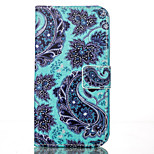 Flower PU Leather Wallet with Card Holder and Stand for Iphone 5 5s 5se 6 6s 6Plus 6sPlus