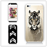 The Tiger Pattern  Pattern PC Phone Case Back Cover Case for iPhone5/5S