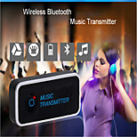 Newest Bluetooth TV Transmitter, Compatible to TV, Desktop, Radio, Ipad, No Disturbs To Families Anymore