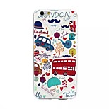 Life Map Painting Pattern TPU+IMD Back Case For iPhone6/6s