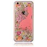 Christmas Princess Flow Sand PC Material Cell Phone Case for iPhone 6/6S