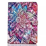 Novelty Cartoon Magnetic Buckle PU Leather Folio Case Shockproof Case for iPad Air/iPad 5