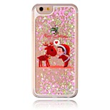 Santa Deer Diamond Painted Shell PC Phone Case for iphone5/5S