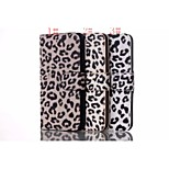 Luxury Leopard Print Pattern High-quality PU Leather Case with Full Body Case and Kickstand Card Slots for Iphone6S