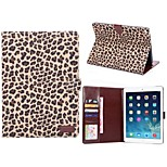 Leopard Pattern PU Leather Full Body Cases Horizontal Flip Tablet Leather Case with Stand for iPad Mini 2/3