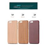 madera de la fantasía de la piel caso ultra delgada armadura de cuero protectora de la PU para el iphone 6 más / 6s más (colores surtidos)