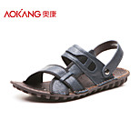 Aokang® Men's Leather Sandals - 141723008