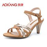 Aokang® Women's Leatherette Sandals - 132811213