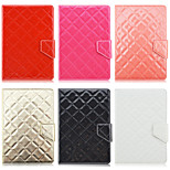 Rhombus Pattern High Quality PU Leather with Stand Case for 7 Inch Universal Tablet