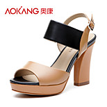 Aokang® Women's Leather Sandals - 132811036