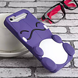Cute Monster Silicone Soft Back Case for iPhone 5/5S(Assorted Colors)