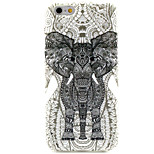 Elephant TPU Pattern Back Cover Mobile Phone Protection Shell for iPhone 6/6s