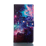 Starry Sky PU Leather Stand Full Body Case Cover with Card Slot for Sony Xperia Z3 / Z3 Compact D5803 M55w / Z3 Mini