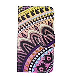 Datura Flower Color Pattern PU Leather Full Body Cover with Stand for Sony Xperia Z5 Compact