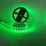 diode émettrice de lumière a mené la lumière bande 3528SMD 300LED / IP65 vert clair / bleu clair DC12V 5m / lot imperméable à l'eau