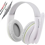 SADES 3.5mm Stereo Headphones Headband PC Gaming Headset with High Sensitivity Microphone Volume Control for Desktop PC