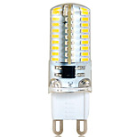 G9 6 W 72 SMD 3014 580 LM Warm White / Cool White T Decorative Bi-pin Lights AC 220-240 V
