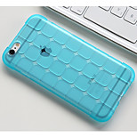 Jiugongge Square Fall Proof Matte Transparent Cases for iPhone6/iPhone 6s(Assorted Colors)