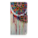 Color Dreamcatcher Pattern PU Leather Full Body Cover with Stand for Sony Z5