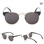 Sunglasses Women's Modern / Fashion Cat-eye Silver / Gold Sunglasses Rimless