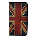 Union Flag Pattern PU Leather Full Body Cover with Stand for Huawei Nexus 6P