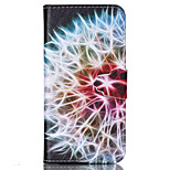 Dandelion  Pattern PU Leather Phone Case For iPhone 6 /6S