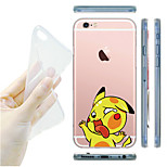 MAYCARI®Knocking on the Windows Transparent TPU Back Case for iPhone 6/iphone 6S(Assorted Colors)