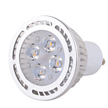 GU10 6 W 4 x 3030 SMD 540 LM Warm White / Cool White High Bright LED Spot Lights AC 85-265 V