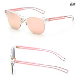 Sunglasses Women's Modern / Fashion Hiking Silver / Gold Sunglasses Half-Rim