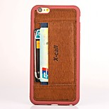 High Quality Card Slot Cover for iPhone 6 (Assorted Colors)