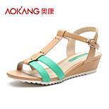 Aokang® Women's Leatherette Sandals - 132823343