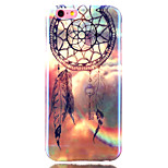 Wind Chime Blue laser TPU Pattern Back Cover Mobile Phone Protection Shell for iPhone 6/6S