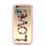 2-in-1 Butterfly Love Pattern TPU Back Cover with PC Bumper Shockproof Soft Case for iPhone 6/6S